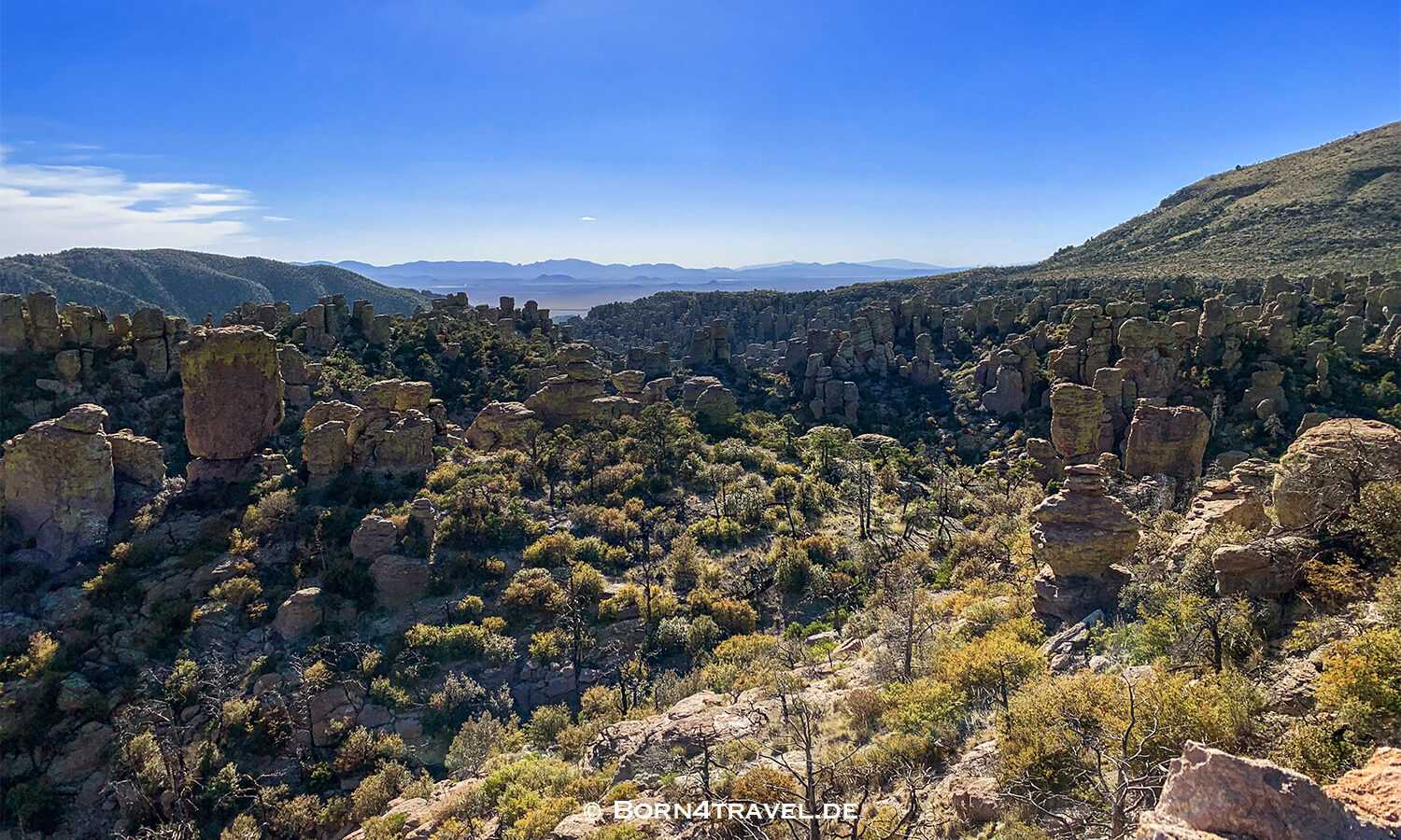 Echo Trail im Chiricahua National Monument, Arizona,USA,born4travel.de