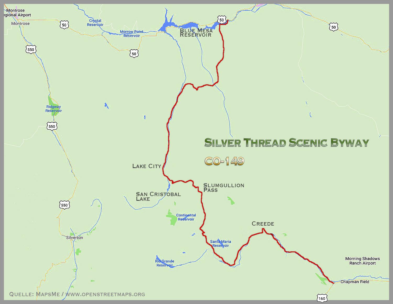 SILVER THREAD SCENIC BYWAY: Rio Grande River - Slumgullion ...