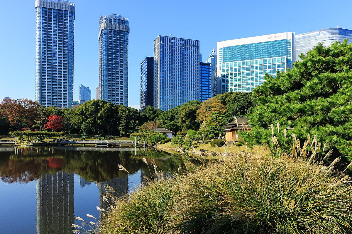 Unterwegs In Tokyo Happo En Kōen Hammarikyu Hibiya Und