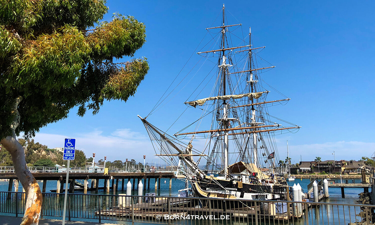 Pilgrim, Dana Point Harbor,Orange County, Dana Point, California,USA,born4travel.de