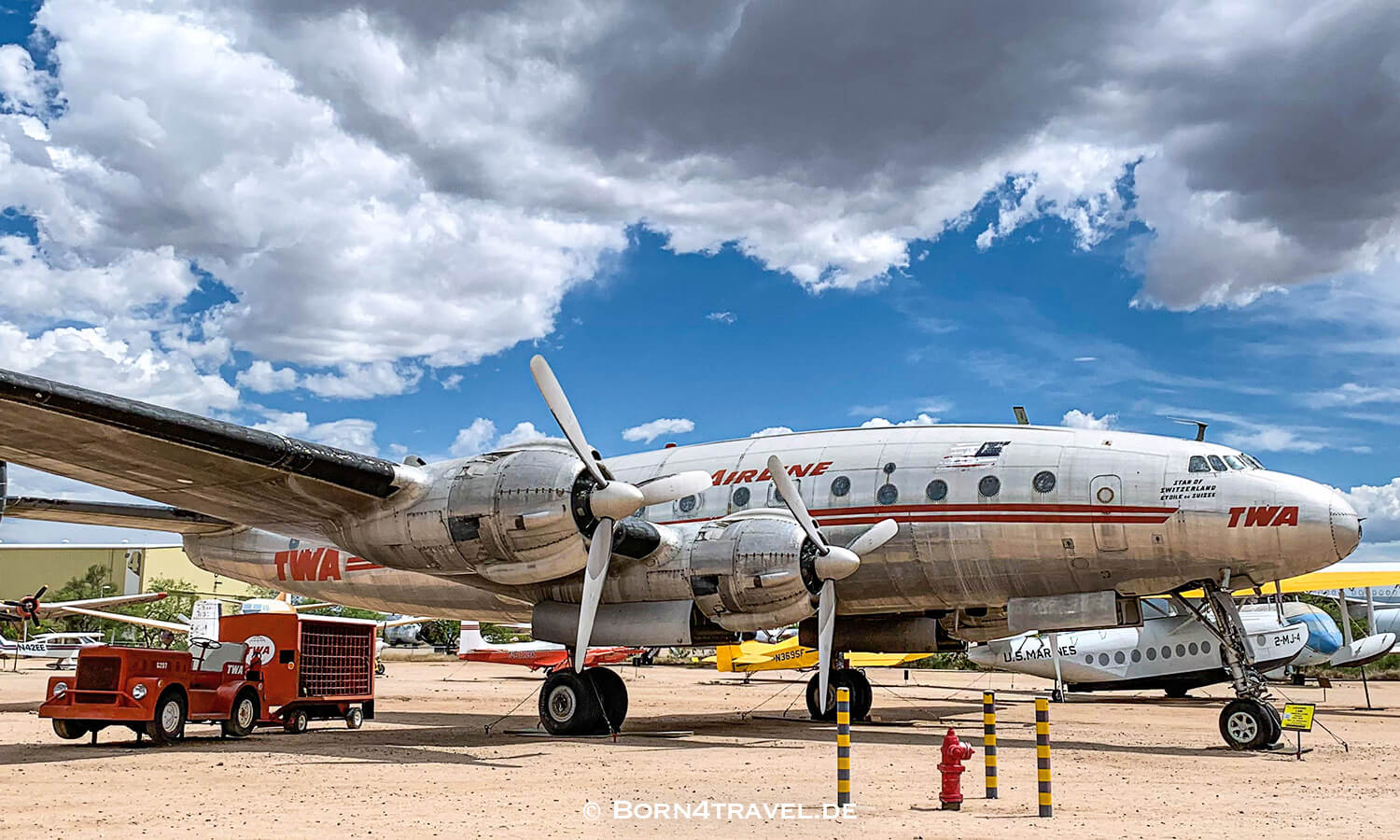 Lockheed L-049 Constellation , Star of Switzerland, PIMA AIR & SPACE MUSEUM,Arizona,USA,born4travel.de