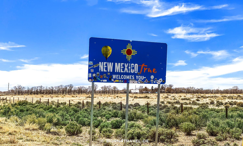 Colorado-New Mexico Border,USA,born4travel.de