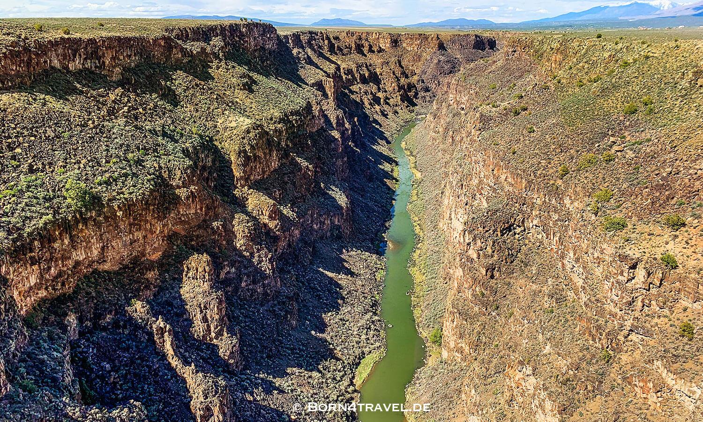 Rio Grande Bridge,Taos,New Mexico,USA,born4travel.de