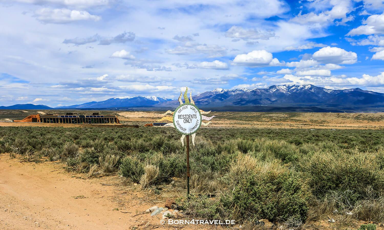 Greater World Earthship Community,New Mexico,USA,born4travel.de
