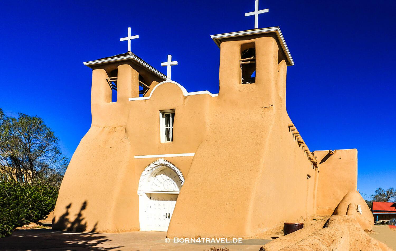 San Francisco de Assisi Church,Rancho de Taos,New Mexico,USA,born4travel.de