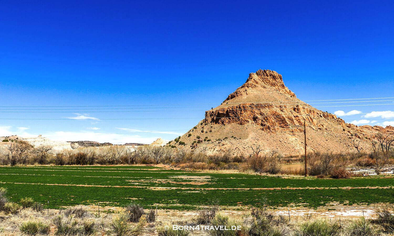 Plaza Blanca aus Drohnenperspektive,New Mexico,USA,born4travel.de